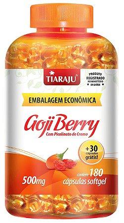 Goji Berry com Picolinato de Cromo - 180+30 cápsulas - Tiaraju