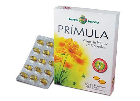 Prímula - 45 cápsulas - Terra Verde