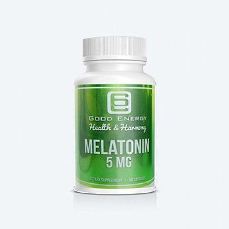 Melatonin 5 mg - 90 cápsulas - Good Energy