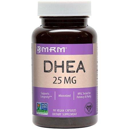 DHEA 25mg - 90 cápsulas - MRM