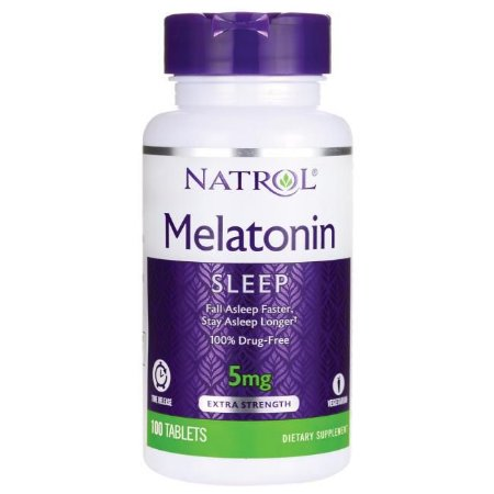 Melatonin 5 mg - 100 tabletes - Natrol