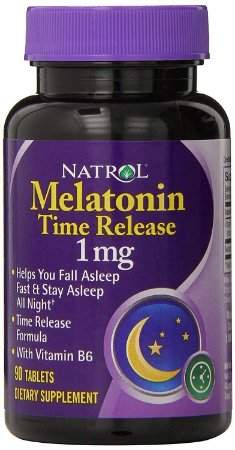 Melatonin Time Release 1 mg - 90 tabletes - Natrol