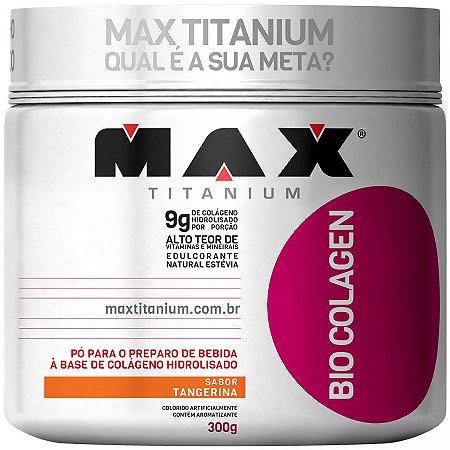Bio Colagen - 300g - Tangerina - Max Titanium