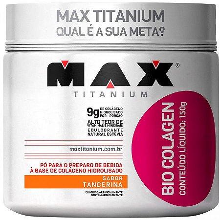 Bio Colagen - 150g - Tangerina - Max Titanium