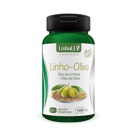 Linho-Oliva - 60 cápsulas - LinhoLEV