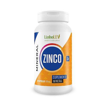 Zinco - 60 cápsulas - LinhoLEV