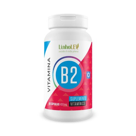 Vitamina B2 - 60 cápsulas - LinhoLEV