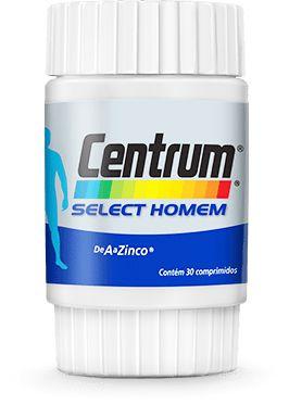 Select Homem - 30 comprimidos - Centrum