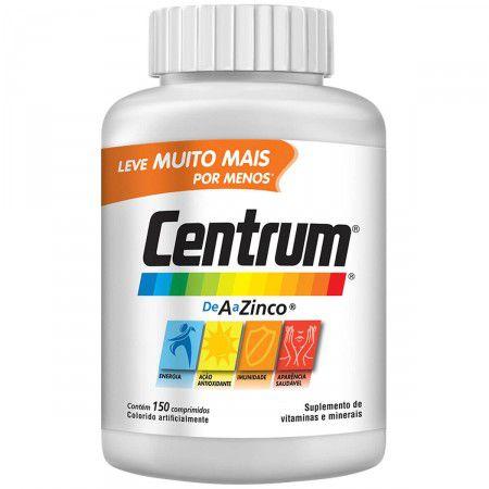 De A a Zinco - 150 comprimidos - Centrum