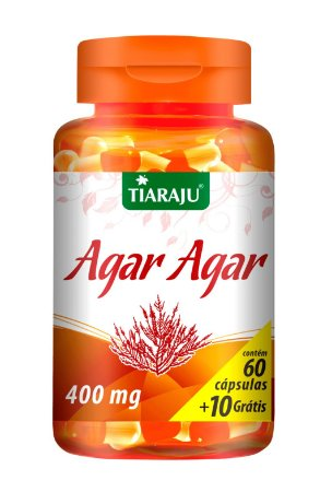 Agar Agar - 60+10 cápsulas - Tiaraju