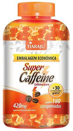 Super Caffeine - 180+30 cápsulas - Tiaraju
