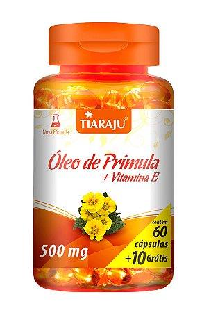 Óleo de Prímula + Vitamina E - 60+10 cápsulas - Tiaraju