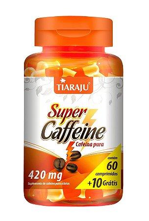 Super Caffeine - 60+10 cápsulas - Tiaraju
