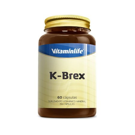 K-Brex - 60 cápsulas - Vitaminlife
