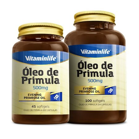 Óleo de Prímula - 100 cápsulas - Vitaminlife