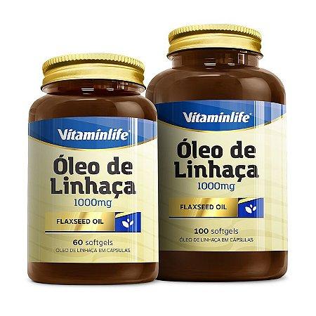 Óleo de Linhaça - 60 cápsulas - Vitaminlife