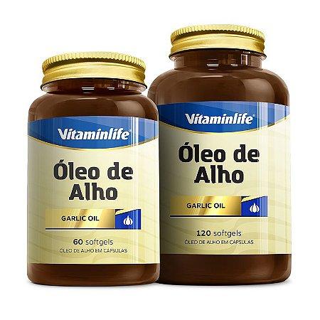 Óleo de Alho - 120 cápsulas - Vitaminlife