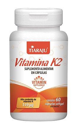 Vitamina K2 - 60 cápsulas - Tiaraju