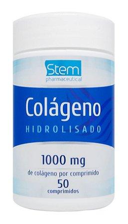 Colágeno Hidrolisado 1000mg - 50 comprimidos - Stem Pharmaceutical