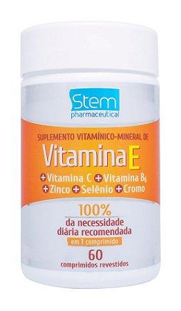 Vitamina E - 60 comprimidos - Stem Pharmaceutical