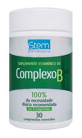 Complexo B - 30 comprimidos - Stem Pharmaceutical