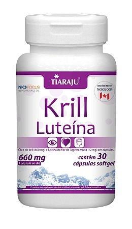 Krill Luteína - 30 cápsulas - Tiaraju
