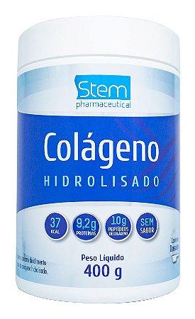 Colágeno Hidrolisado - 400g - Sem sabor - Stem Pharmaceutical