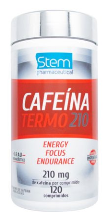 Cafeína Termo 210 - 120 comprimidos - Stem Pharmaceutical