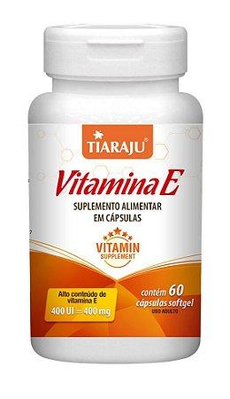 Vitamina E 400 UI - 60 cápsulas - Tiaraju