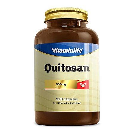Quitosan - 120 cápsulas - Vitaminlife