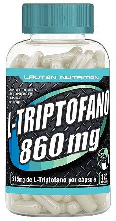L-Triptofano 860mg - 120 cápsulas - Lauton Nutrition