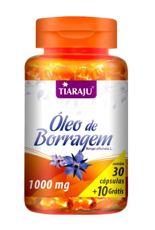 Óleo de Borragem - 30+10 cápsulas - Tiaraju