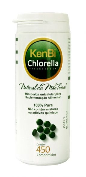 Chlorella - 450 comprimidos - KenBi