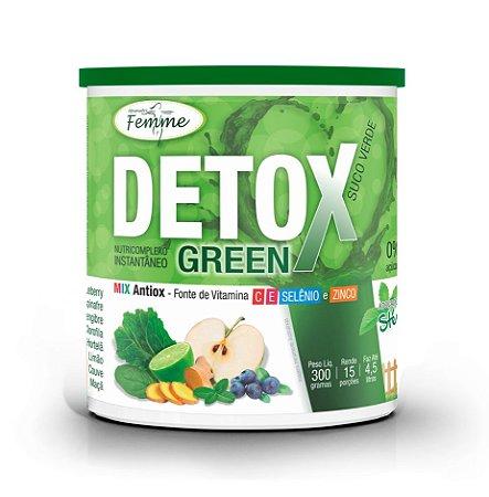 Detox Green Suco Verde - 300g - Apisnutri