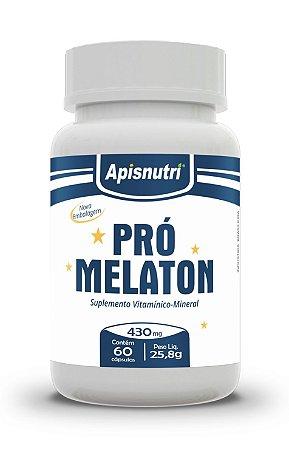 Pró Melaton - 60 cápsulas - Apisnutri