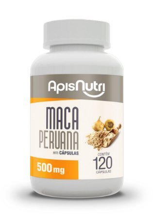 Maca Peruana - 120 cápsulas - Apisnutri