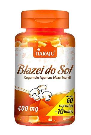 Blazei do Sol - 60+10 cápsulas - Tiaraju
