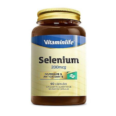 Selenium 200mcg - 60 cápsulas - Vitaminlife
