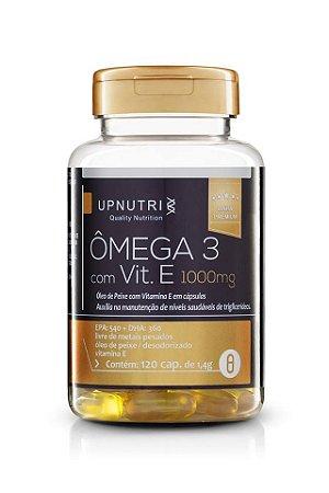 Ômega 3 com Vit. E Desodorizado - 120 cápsulas - Upnutri