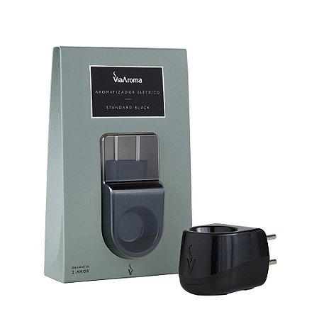Aromatizador Elétrico Standard Black - Plástico Preto - Via Aroma