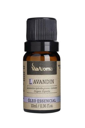 Óleo Essencial Lavandin - 10ml - Via Aroma