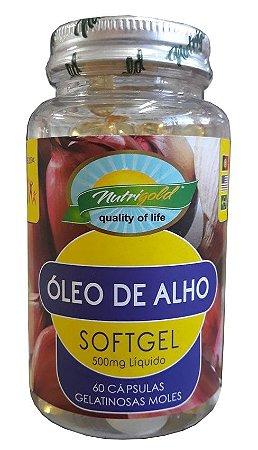 Óleo de Alho - 60 cápsulas - Nutrigold
