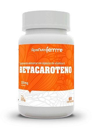 Betacaroteno - 60 cápsulas - Apisnutri