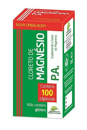 Cloreto de Magnésio P.A. - 100 cápsulas - Medinal