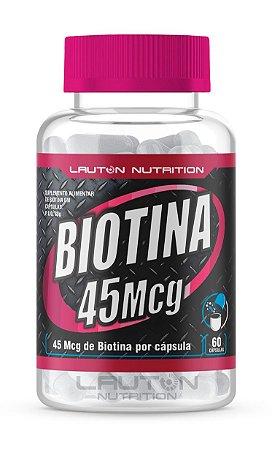 Biotina 45mcg - 120 cápsulas - Lauton Nutrition