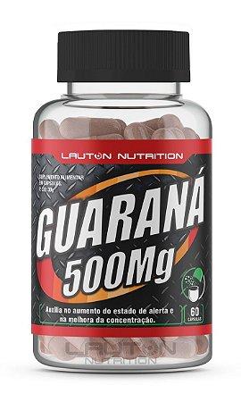 Guaraná 500mg - 120 cápsulas - Lauton Nutrition