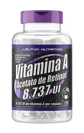 Vitamina A Acetato de Retinol 8737 UI - 120 cápsulas - Lauton Nutrition