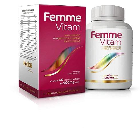 Femme Vitam - 60 cápsulas - Ekobé