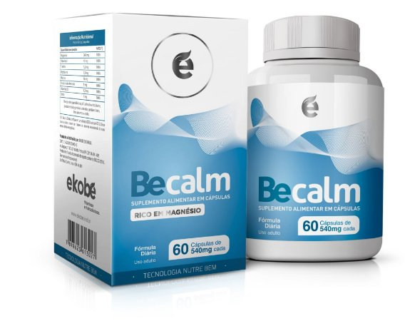 Becalm Anti Stress - 60 cápsulas - Ekobé