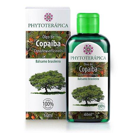 Óleo de Copaíba (Bálsamo) - 60ml - Phytoterápica